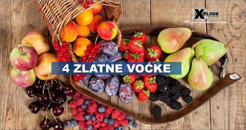 4 zlatne voćke - Xplode Nutrition
