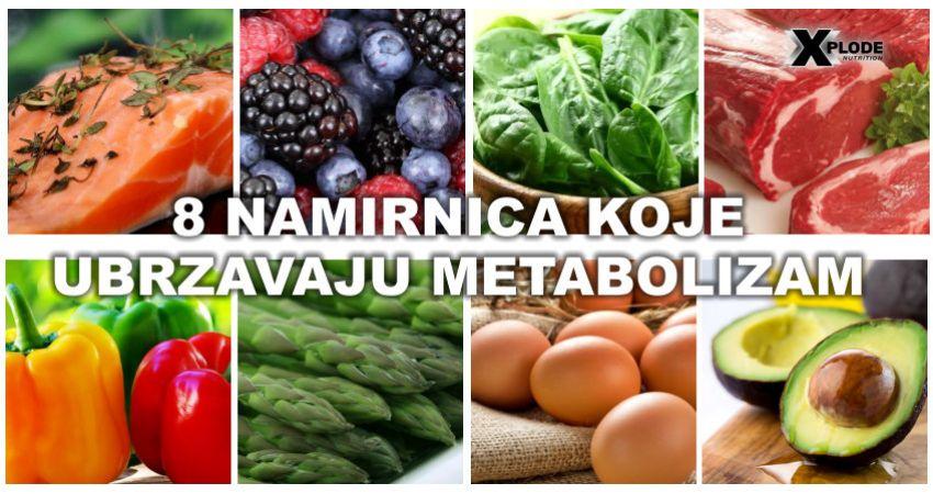 8 namirnica koje ubrzavaju metabolizam - Xplode Nutrition