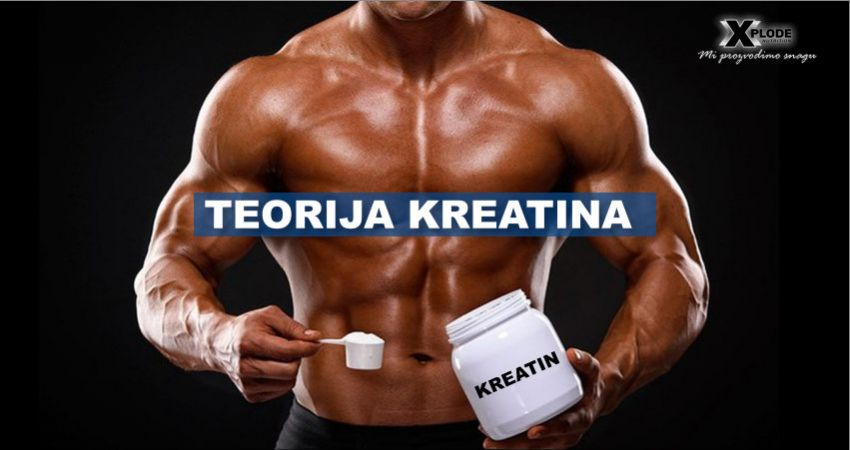 Teorija kreatina - Xplode Nutrition