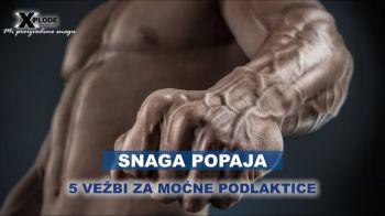 Snaga Popaja: 5 vežbi za moćne podlaktice