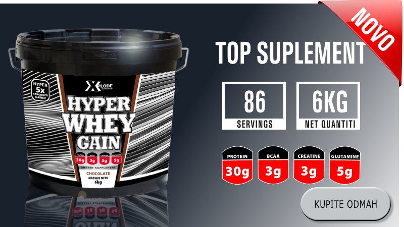 Hyper Whey Gain - top suplement