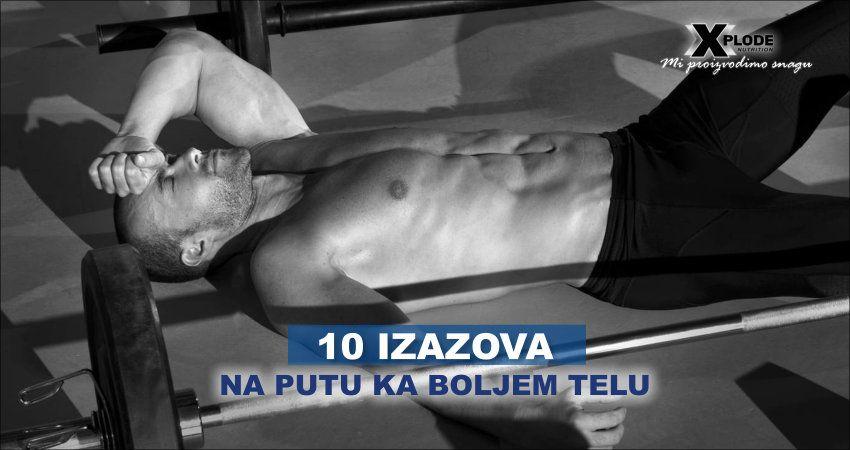 10 izazova na putu ka boljem telu