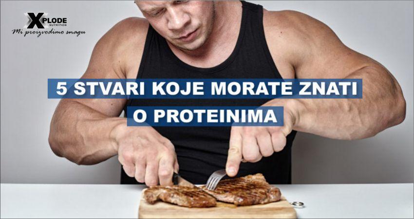 5 stvari koje morate znati o proteinima   Xplode Nutrition