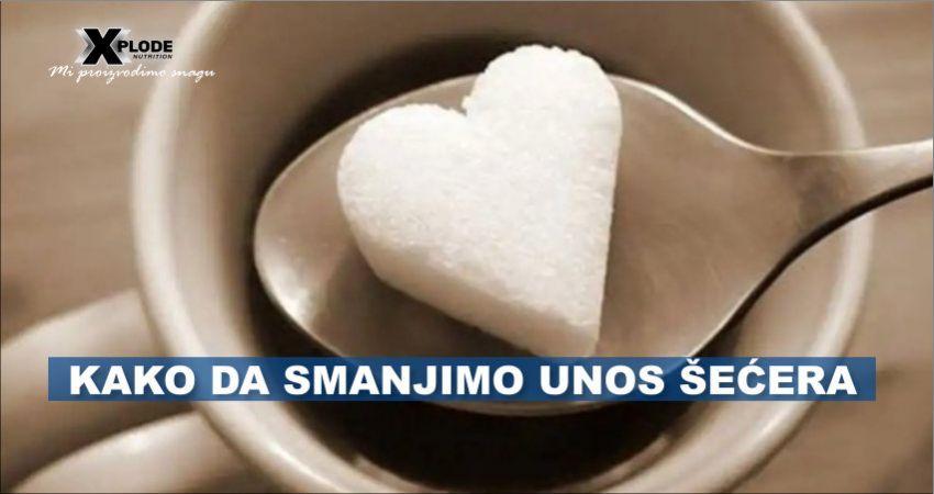 Kako da smanjimo unos šećera