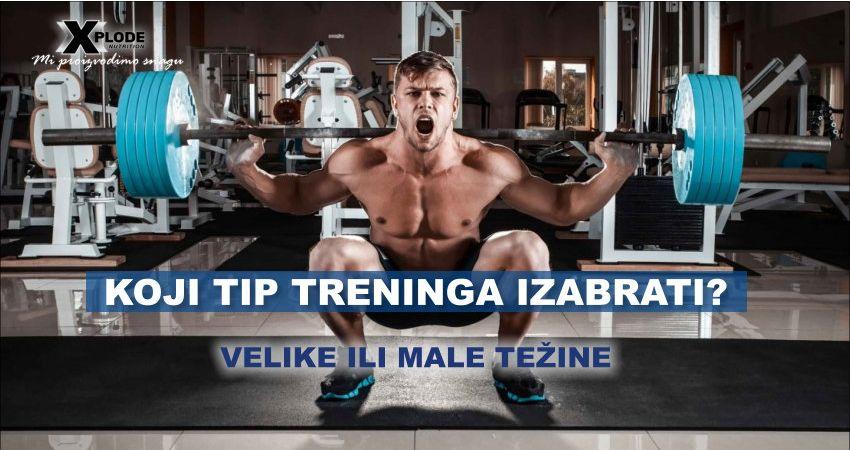 Koji tip treninga izabrati?