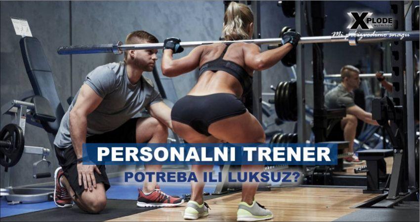 Personalni trener - Xplode Nutrition
