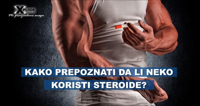 Kako prepoznati da li neko koristi steroide?