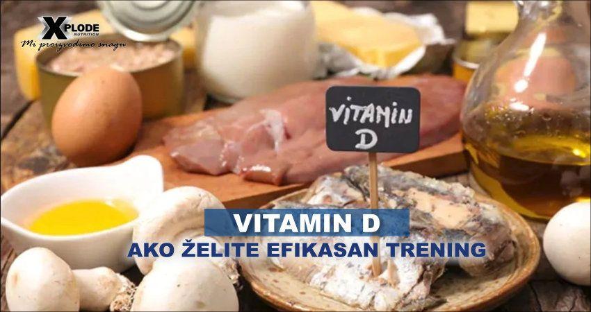 Vitamin D, ako želite efikasan trening