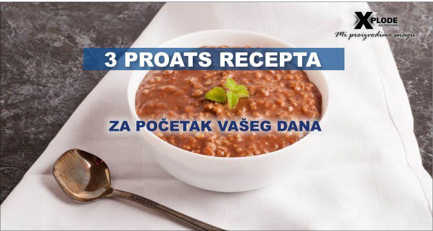 3 Proats recepta za početak vašeg dana