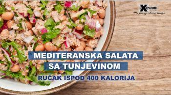 Mediteranska salata sa tunjevinom