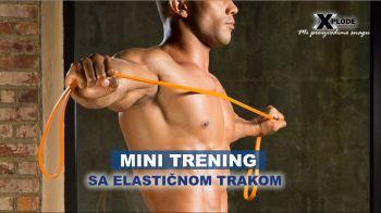 Mini trening sa elastičnom trakom