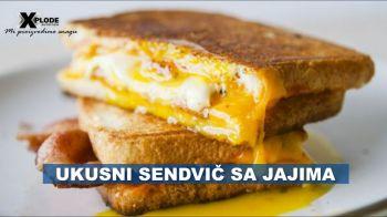 Ukusni sendvič sa jajima